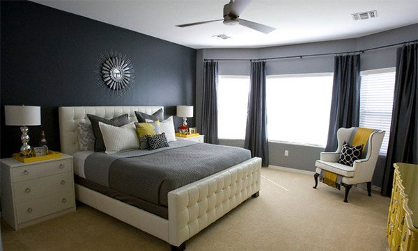 Grey and Yellow Bedroom Decor Luxury 15 Visually Pleasant Yellow and Grey Bedroom Designs