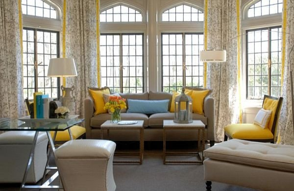 Grey and Yellow Decor Ideas Awesome Garden Inspired Living Room Ideas