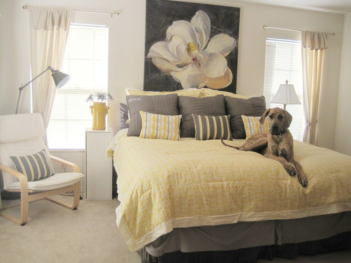 Grey and Yellow Decor Ideas Awesome Yellow and Gray Bedding that Will Make Your Bedroom Pop