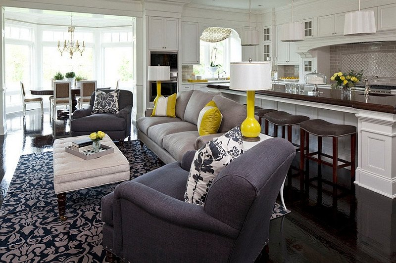 Grey and Yellow Decor Ideas Fresh Gray and Yellow Living Rooms S Ideas and Inspirations