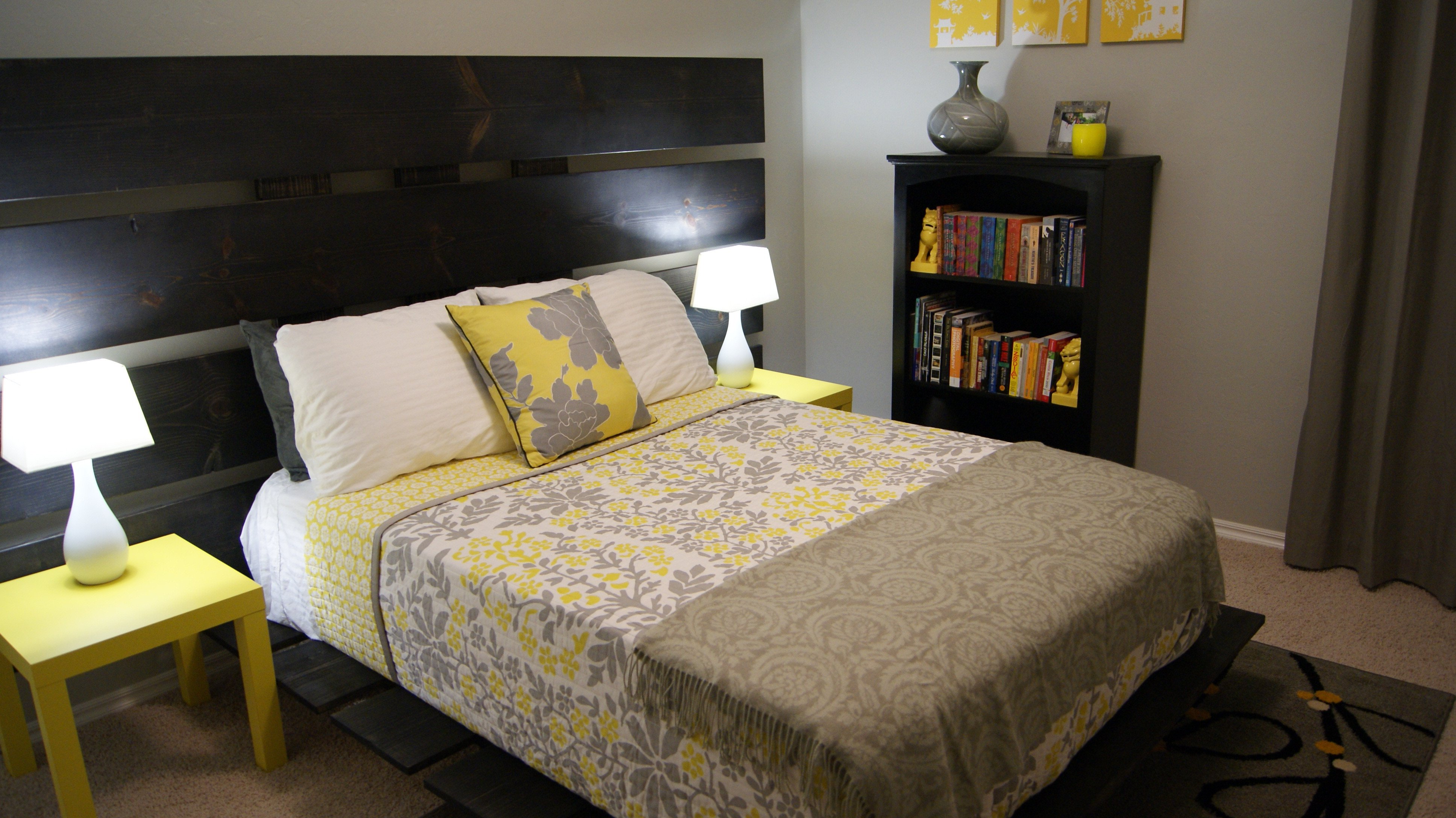 Grey and Yellow Decor Ideas New Yellow and Gray Bedroom Update