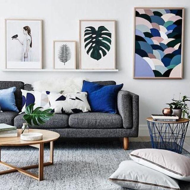 Living room inspiration how to style a grey sofa – the habitat