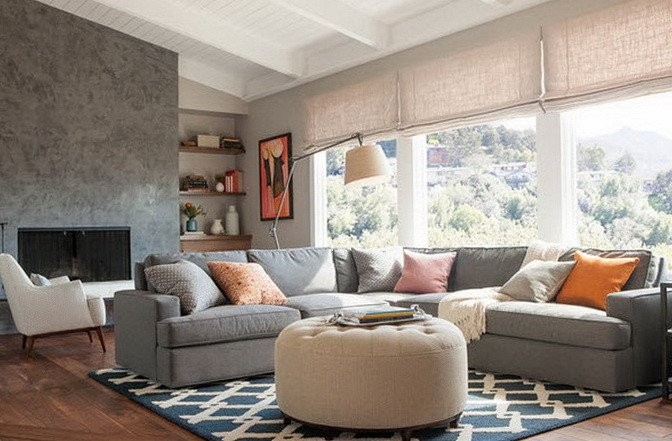 Grey sofa Living Room Decor Fresh Interiors with Gray and Inviting sofas
