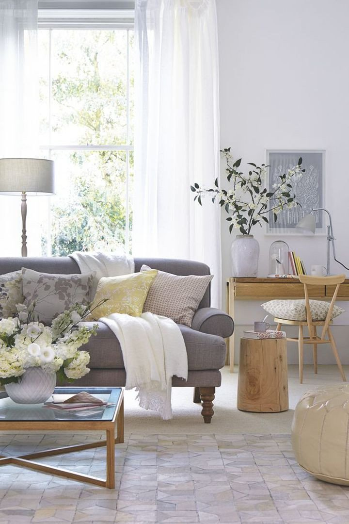 Grey sofa Living Room Decor Inspirational 20 Trendy Living Rooms You Can Recreate at Home