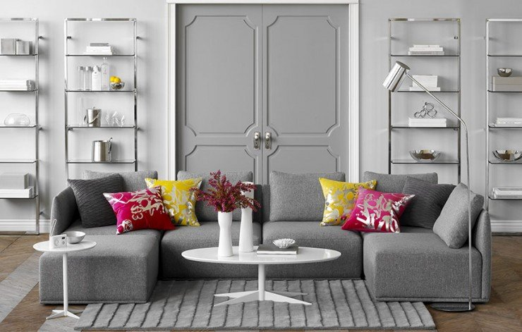 Grey sofa Living Room Decor Luxury 69 Fabulous Gray Living Room Designs to Inspire You Decoholic