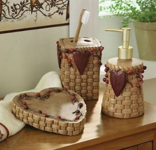 Heart and Star Kitchen Decor Beautiful Country Bath Accessories