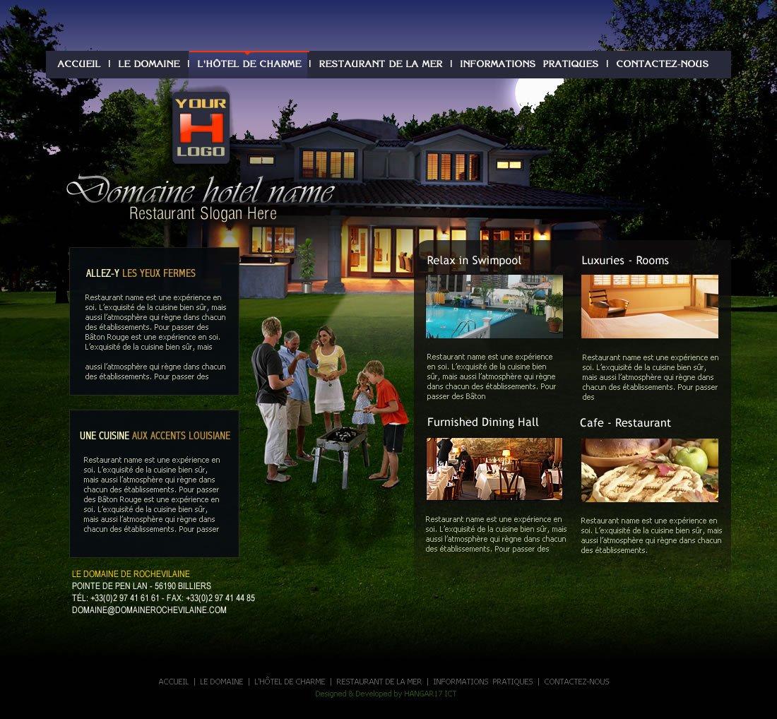 High End Home Decor Websites Beautiful Customized Web Design Creation for High End Restaurant