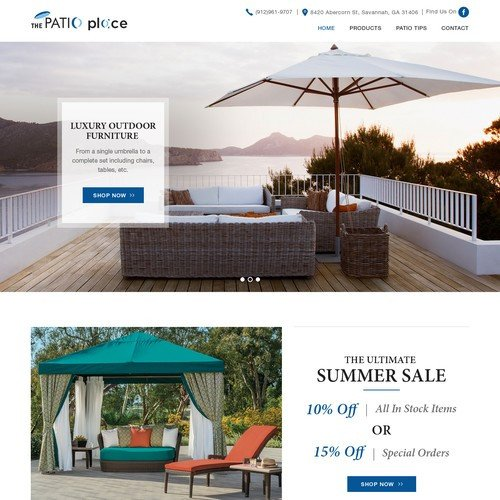 High End Home Decor Websites Beautiful High End Patio Furniture Website Redesign