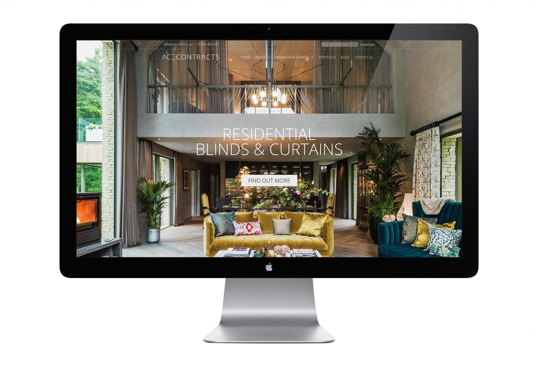 High End Home Decor Websites Elegant Ace Contracts Website