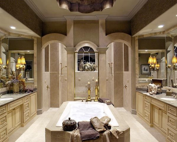His and Her Bathroom Decor Awesome Master Bathroom His and Her Counter tops Home Decor Pinterest