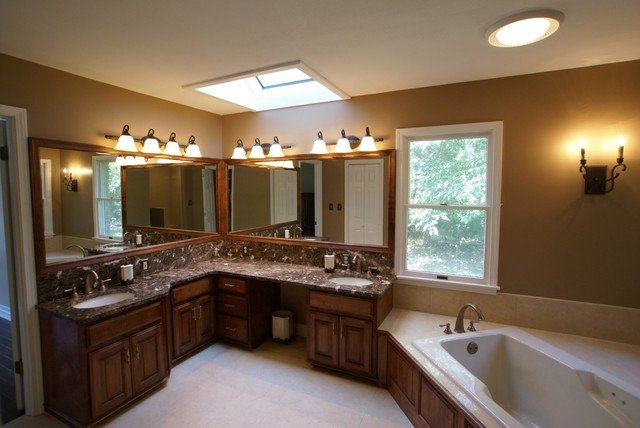 His and Her Bathroom Decor New His and Hers Bathroom Traditional Bathroom St Louis by Life Style Design Llc