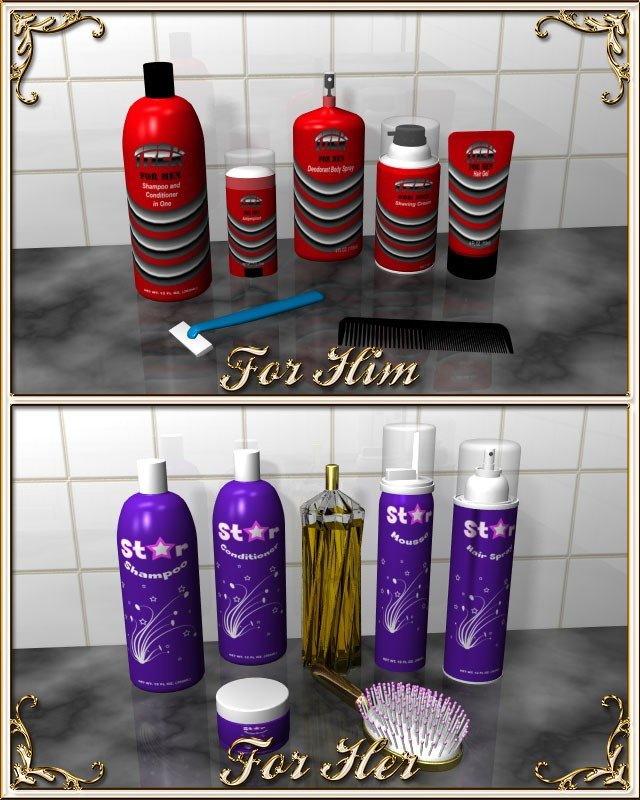 His and Hers Bathroom Decor Best Of Bathroom Accessories A Doodle Design Creation at Hivewire 3d