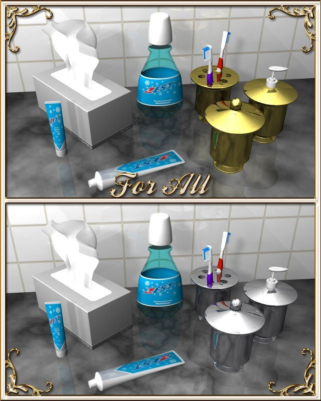 His and Hers Bathroom Decor Elegant Bathroom Accessories A Doodle Design Creation at Hivewire 3d
