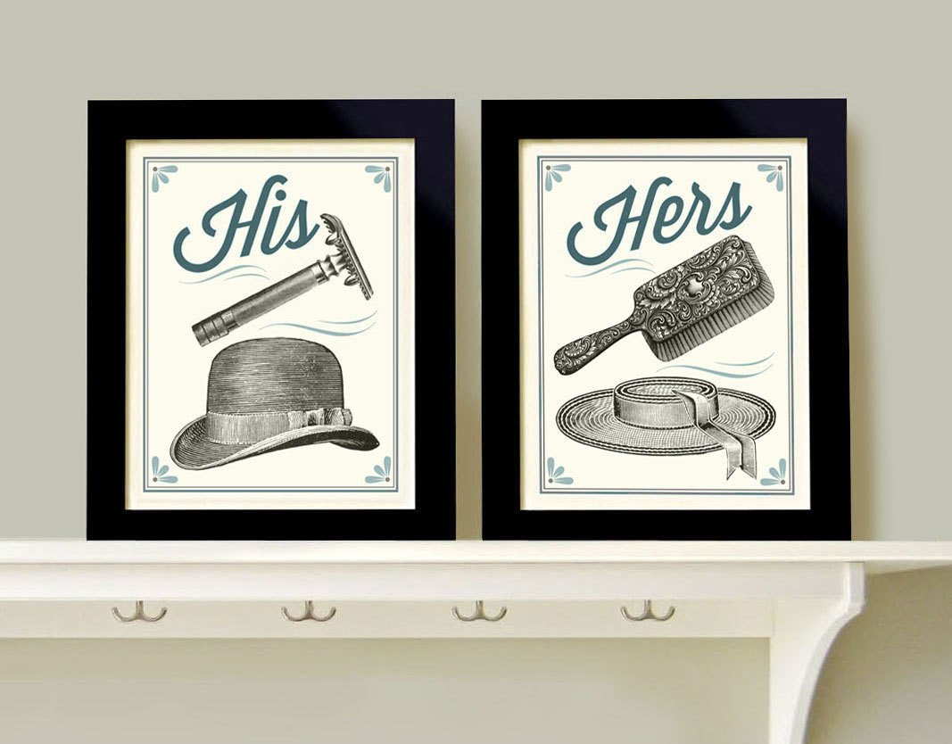 His and Hers Bathroom Decor Lovely His and Hers Bathroom Decor Man Woman Bath Men S Razor