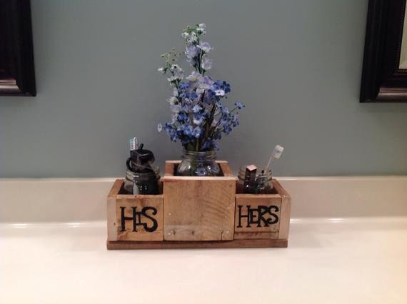 His and Hers Bathroom Decor New Items Similar to His and Hers Bathroom Decor On Etsy