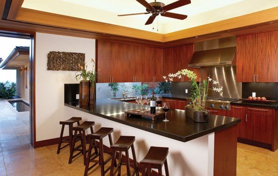 Home Decor Ideas for Kitchen Elegant Luxury Dream Home Design at Hualalai by Ownby Design Digsdigs