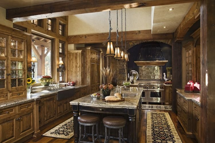 Home Decor Ideas for Kitchen Fresh Rustic House Design In Western Style Tario Residence Digsdigs