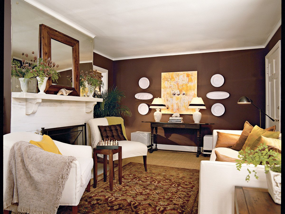 Home Decor Ideas Living Room Best Of Chocolate Brown Living Room southern Living