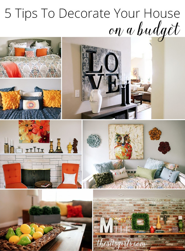 Home Decor On A Budget Best Of 5 Tips to Decorate Your House A Bud