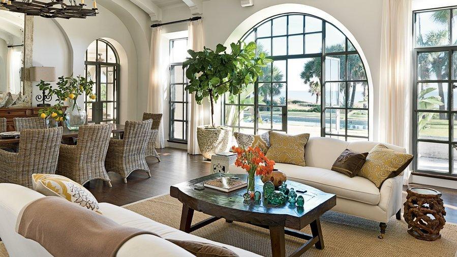 Home Decor Pictures Living Room Elegant New Home with Old World Style Coastal Living