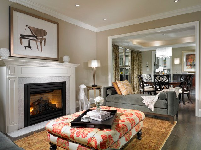 Home Decor Pictures Living Room Fresh Estate Model Home Brampton Traditional Living Room by My Design Studio Yasmine