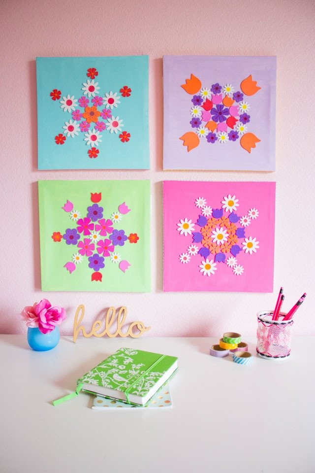 Home Decor Wall Art Ideas Lovely 12 Diy Wall Art Ideas for Spring Home Décor Shelterness
