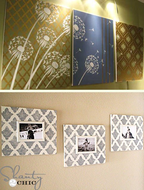 Home Decor Wall Art Ideas Unique 10 Stunning Diy Home Decor Stencil Projects