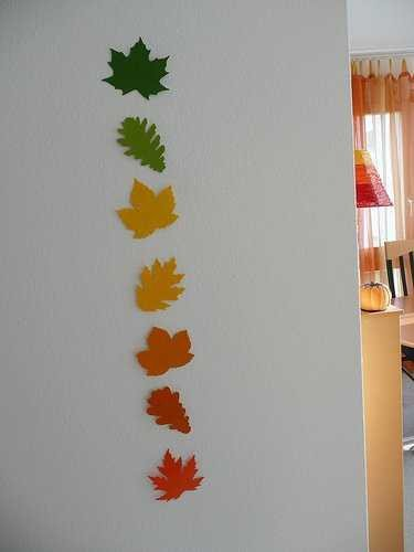 Home Decor Wall Art Ideas Unique 12 Creative Home Decor Ideas Using Fall Leaves and Dry Foliage for Fall Decorating