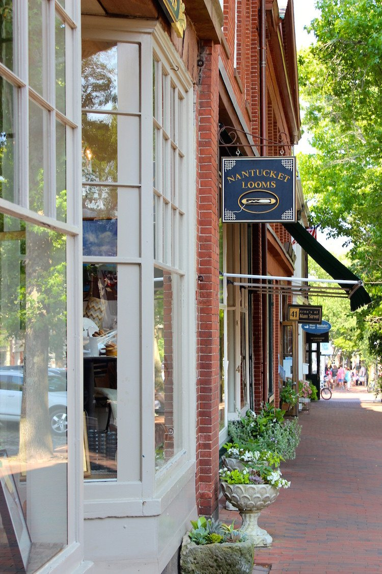 Home Design and Decor Shopping Luxury Stores & Stories Nantucket Looms