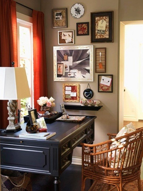 Home Office Decor Ideas Pictures New 43 Old Retro Vintage and Charming Home Fices
