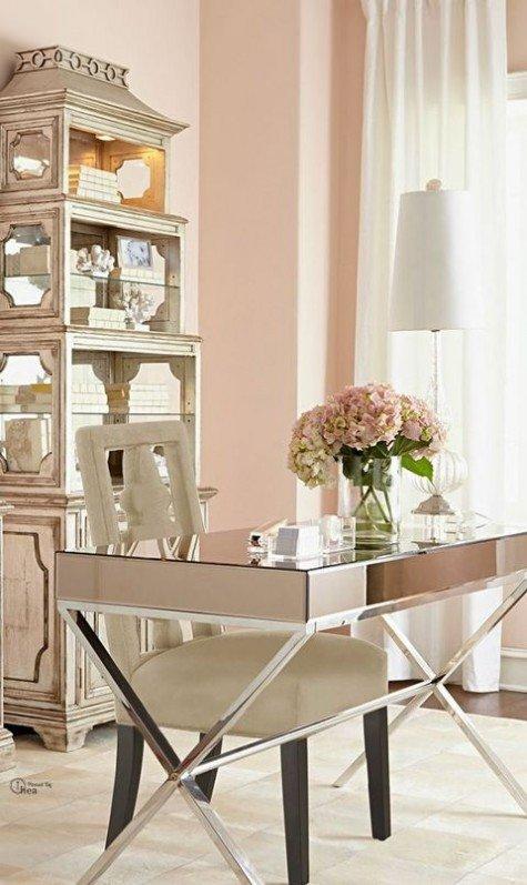 Home Office Decor Ideas Pictures New Feminine Home Fice Decor Ideas
