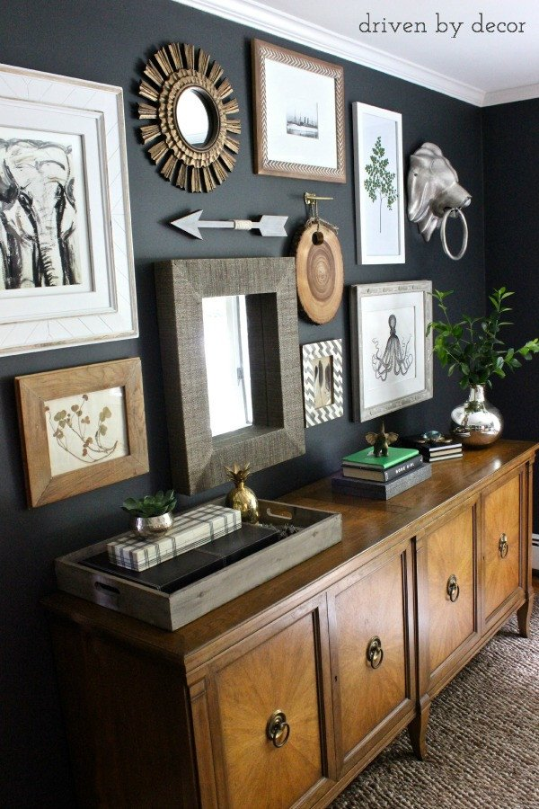 Home Office Wall Decor Ideas Lovely My Home Fice Gallery Wall Reveal & Tips