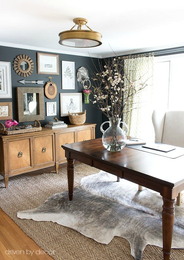 Home Office Wall Decor Ideas New How to Create A Gallery Wall Tips & My Home Fice Art Wall Reveal
