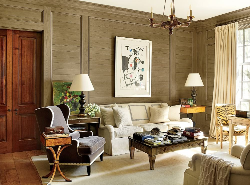 Homey Traditional Living Room Awesome Traditional Living Room by Suzanne Kasler Interiors by Architectural Digest