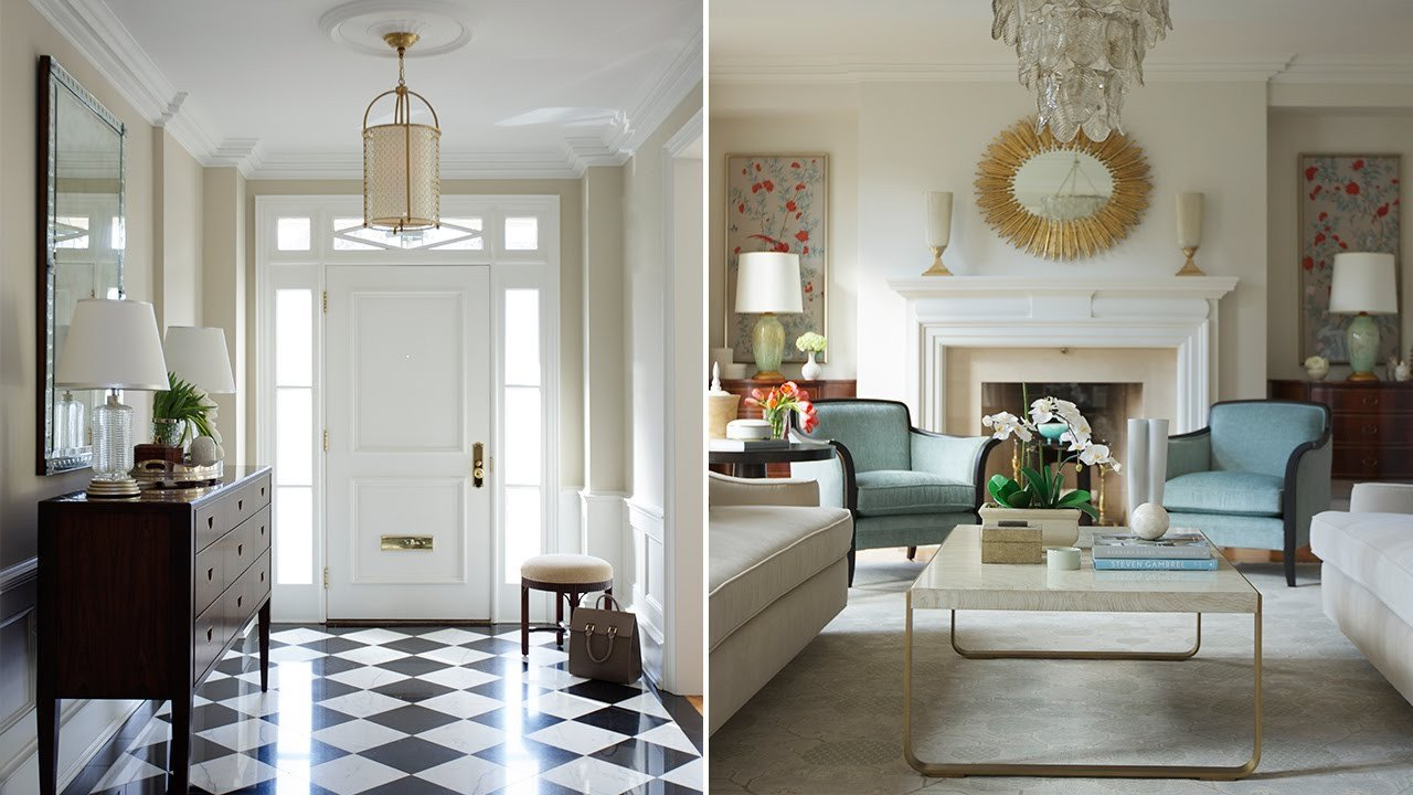 Homey Traditional Living Room Lovely Interior Design – A Traditional Living Room with 1930s Glamor