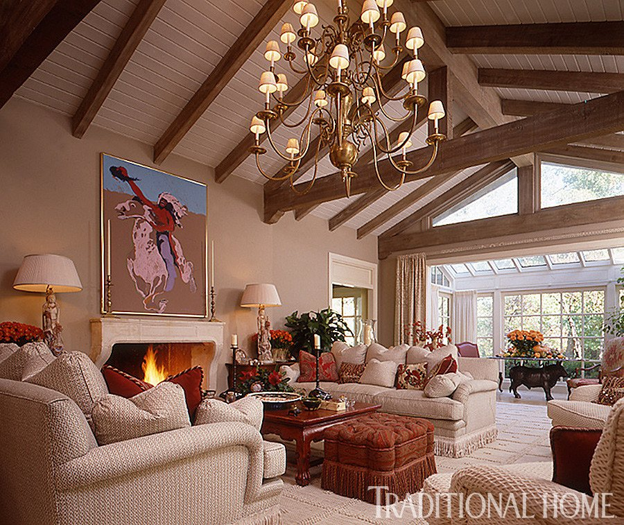 Homey Traditional Living Room New 25 Years Of Beautiful Living Rooms