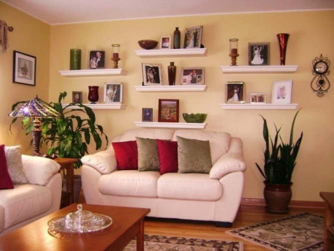 How to Decor Living Room Luxury How to Decorate Floating Shelves In Living Room
