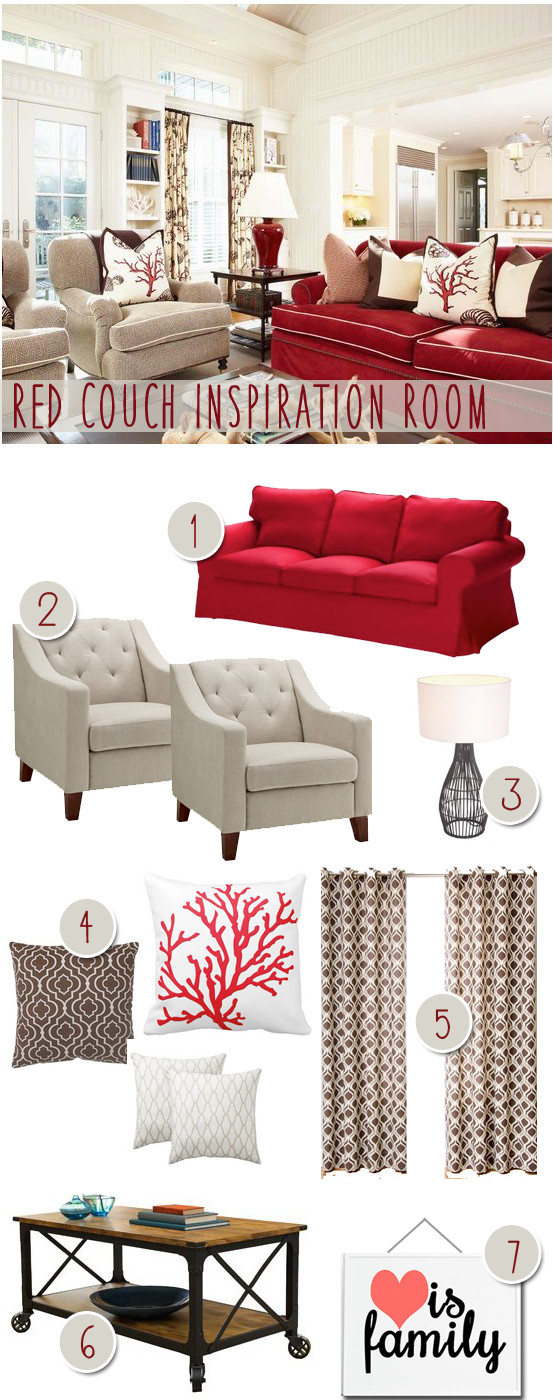 How to Decor Living Room Unique Reader Room Inspiration How Do I Decorate with A Red Couch – Money Saving Sisters