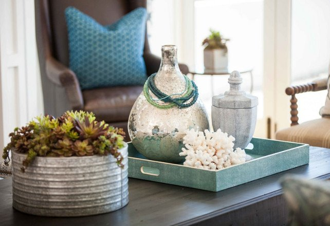 Ideas for Coffee Table Decor Awesome Beach House Living Ideas Home Bunch Interior Design Ideas