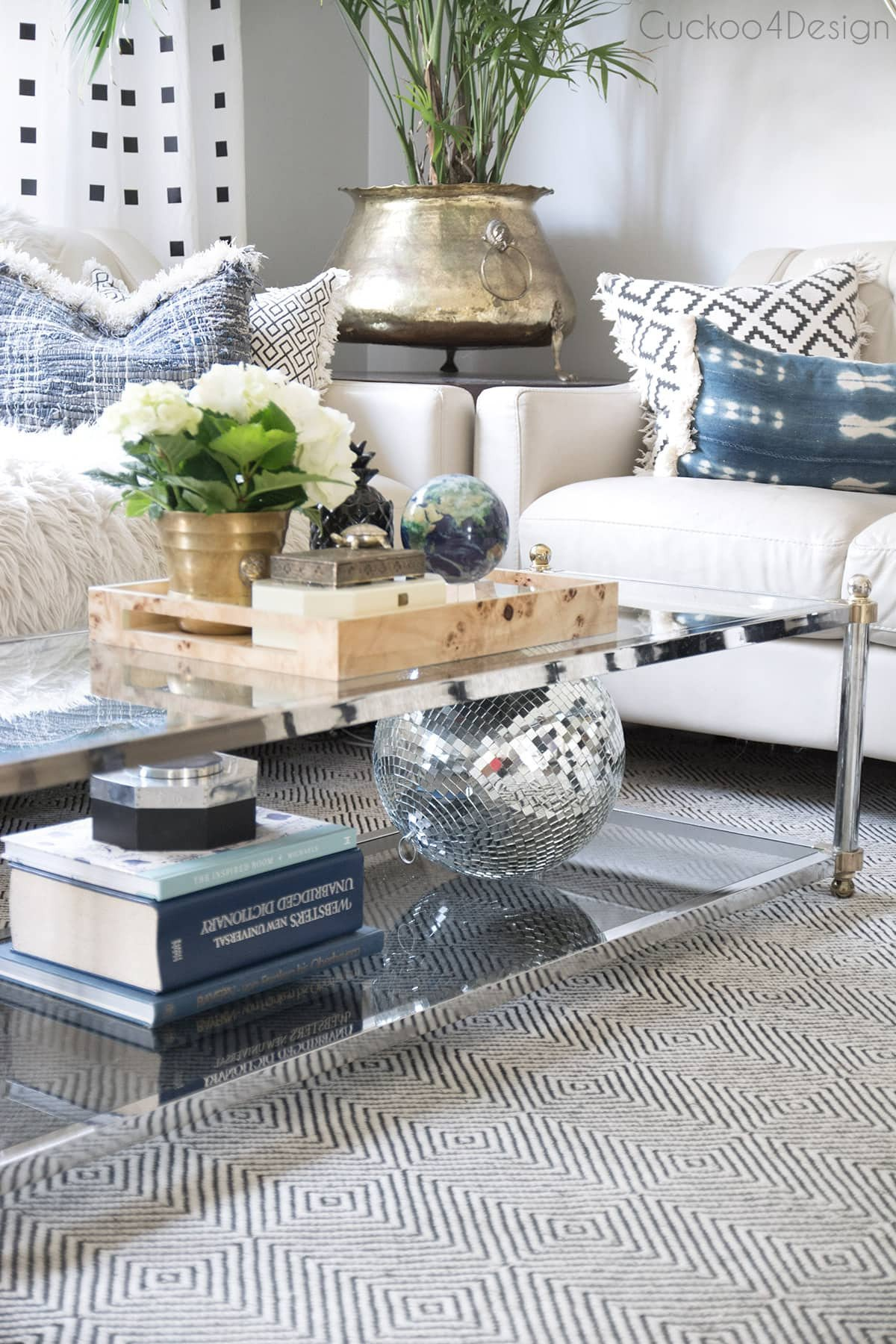 Ideas for Coffee Table Decor Elegant How to Style A Two Tier Coffee Table