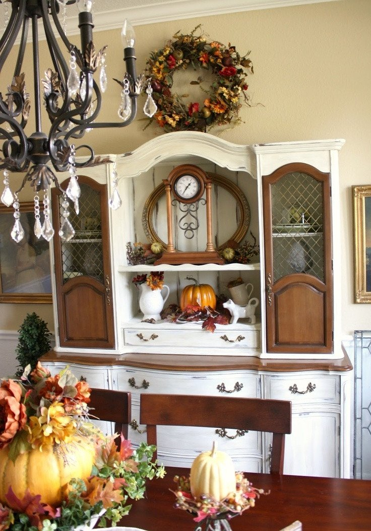 Ideas for Dining Room Decor Awesome 30 Beautiful and Cozy Fall Dining Room Décor Ideas