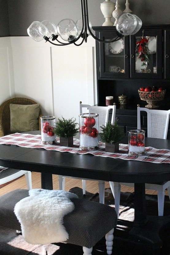 Ideas for Dining Room Decor Awesome 37 Stunning Christmas Dining Room Décor Ideas Digsdigs