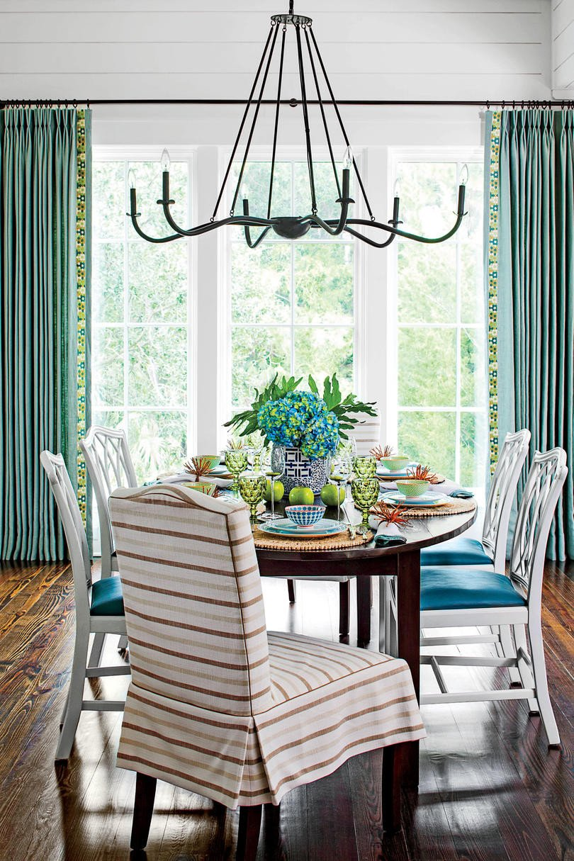 Ideas for Dining Room Decor Elegant Stylish Dining Room Decorating Ideas southern Living