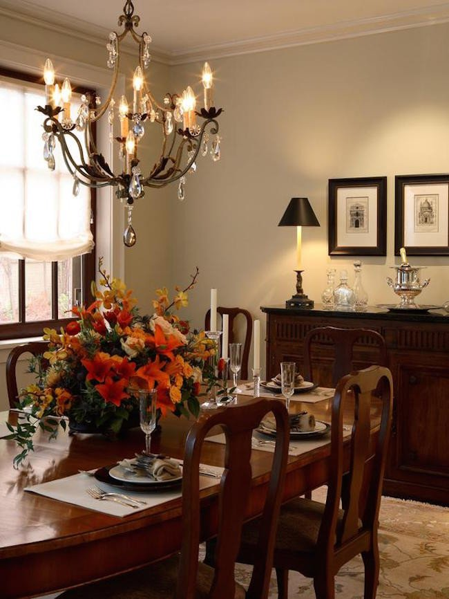 23 Elegant Traditional Dining Room Design Ideas