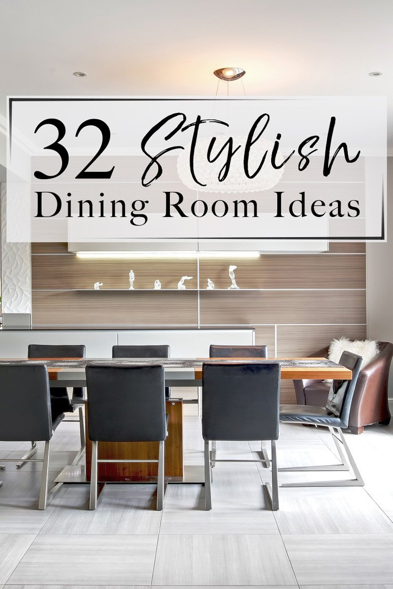 Ideas for Dining Room Decor New 32 Stylish Dining Room Ideas to Impress Your Dinner Guests the Luxpad