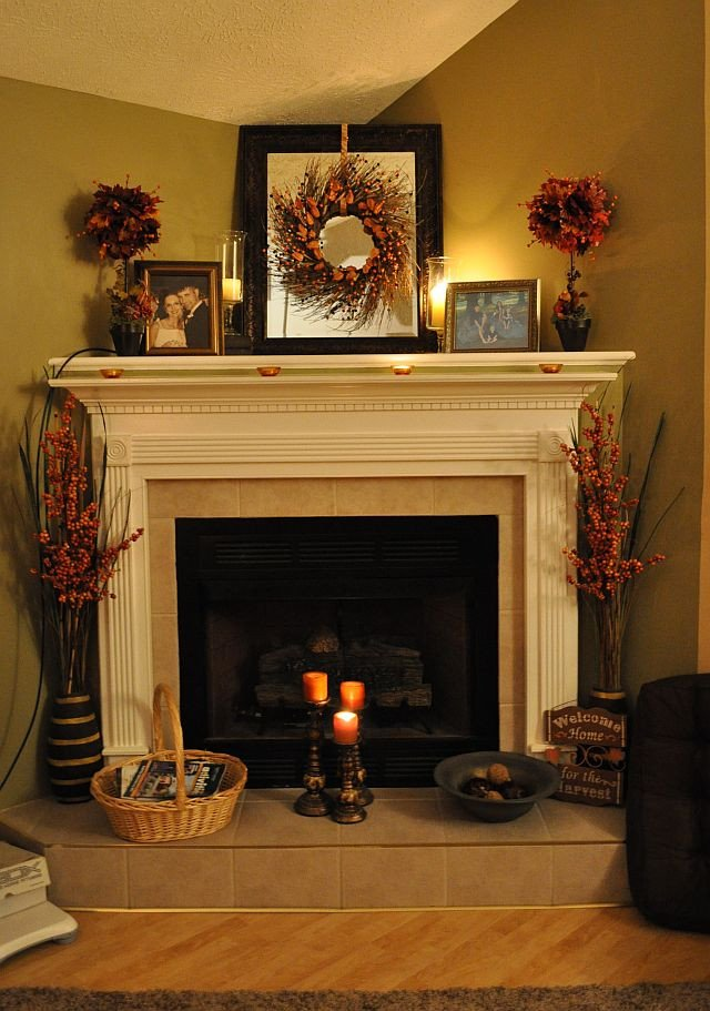 Ideas for Fireplace Mantel Decor Fresh Riches to Rags by Dori Fireplace Mantel Decorating Ideas