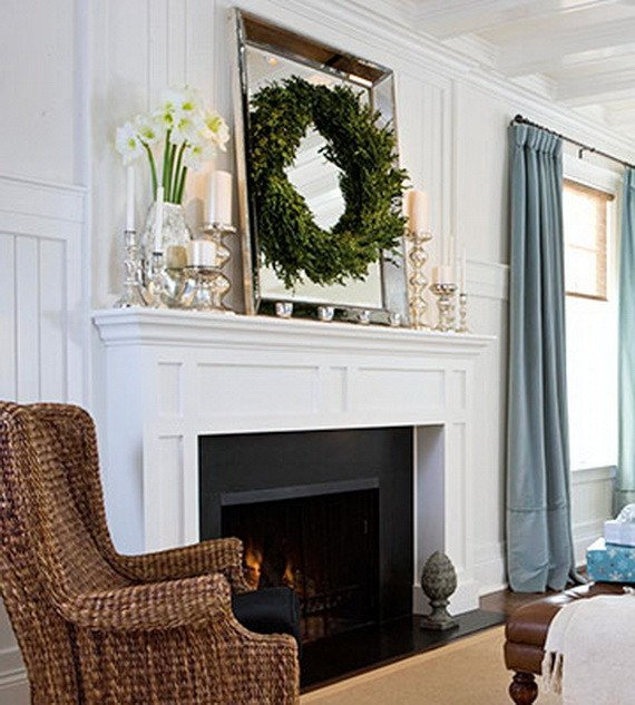 Ideas for Fireplace Mantel Decor Lovely 48 Inspiring Holiday Fireplace Mantel Decorating Ideas Family Holiday Guide to Family