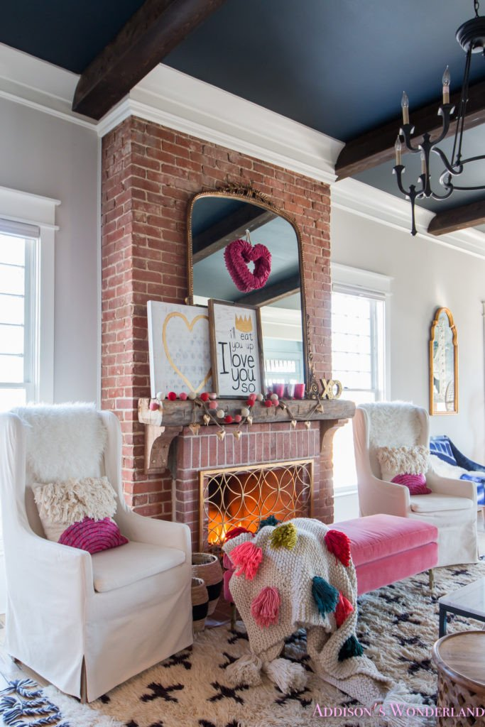 Ideas for Living Room Decor Fresh Our Colorful Whimsical & Elegant Valentine S Day Living Room Decor