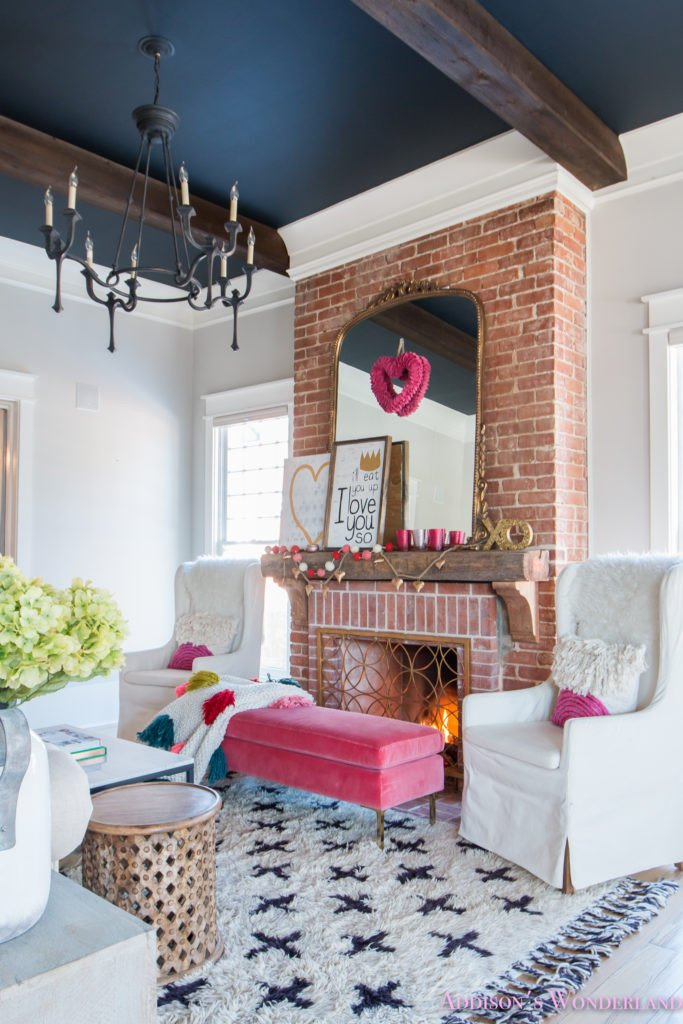 Ideas for Living Room Decor Luxury Our Colorful Whimsical & Elegant Valentine S Day Living Room Decor