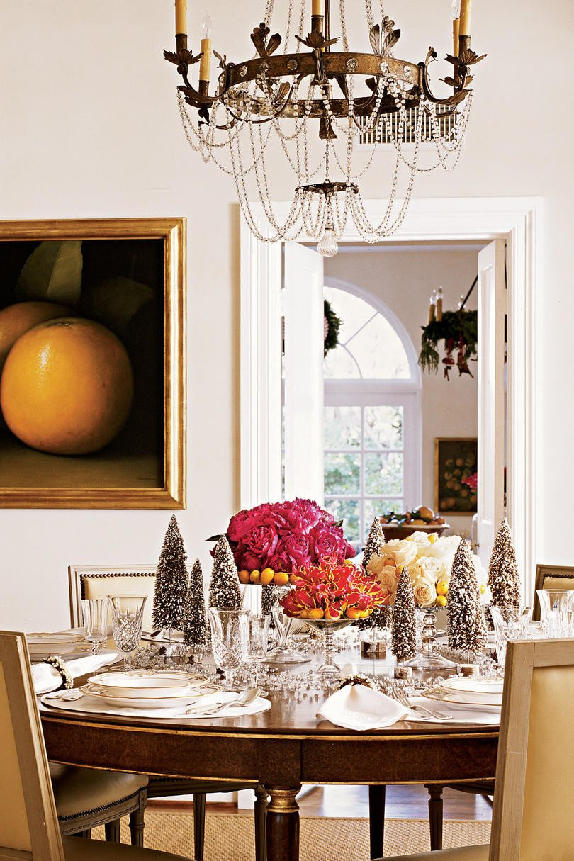 Images Of Dining Room Decor Fresh Christmas In the Dining Room southern Living